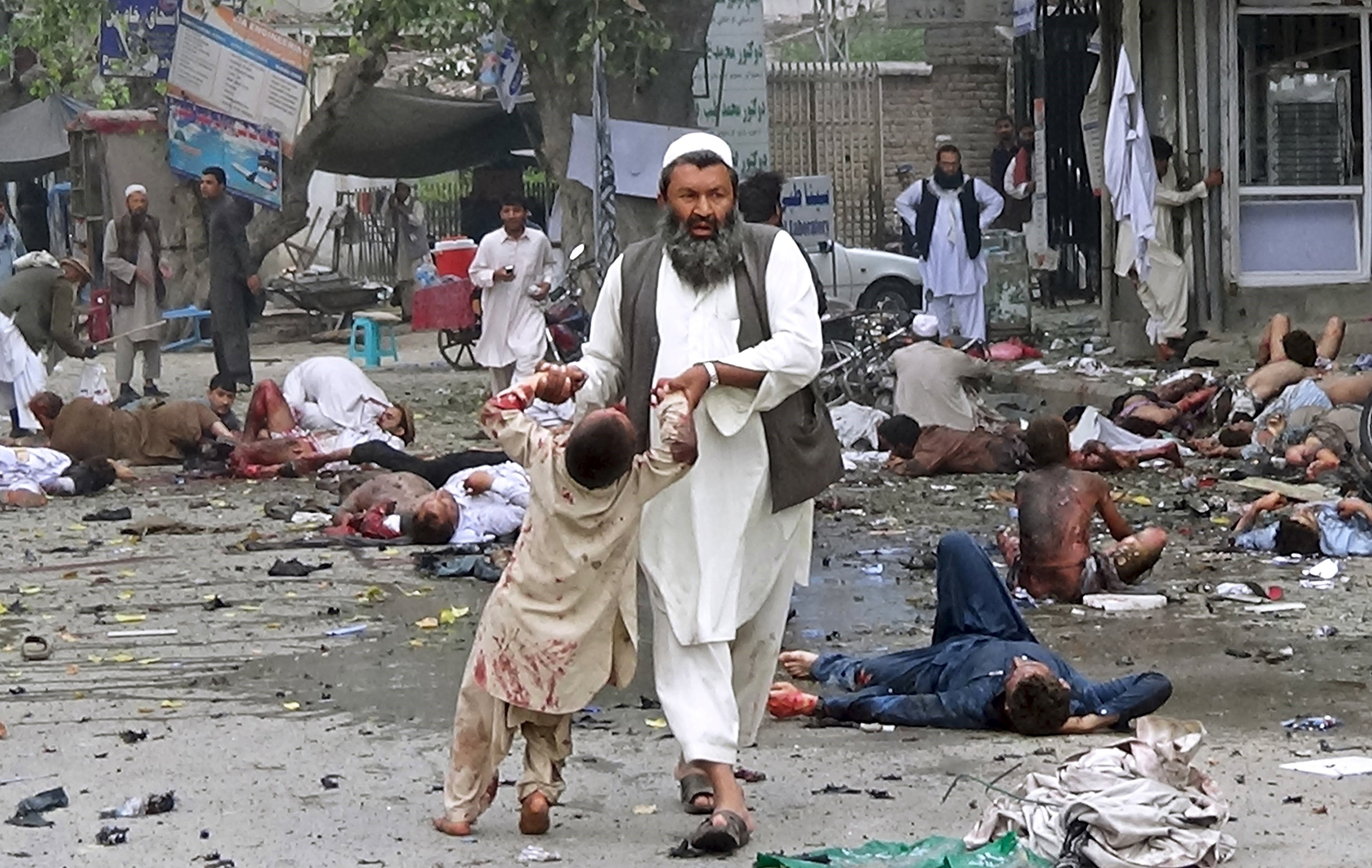 Suicide Bomber Afghanistan