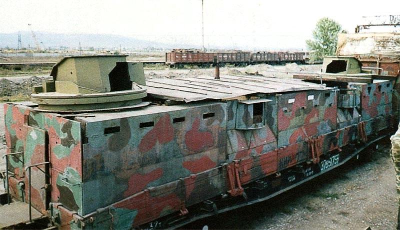 Armored Train Modern Kozma Minin