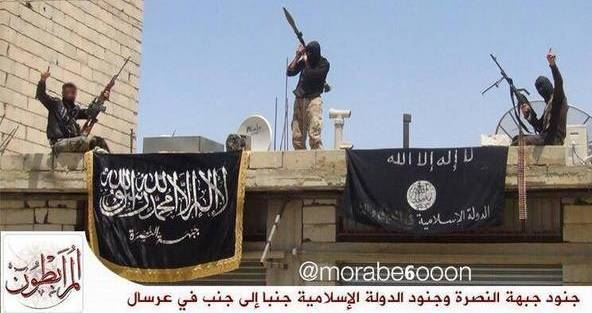 Islamic State Fighters in Arsal