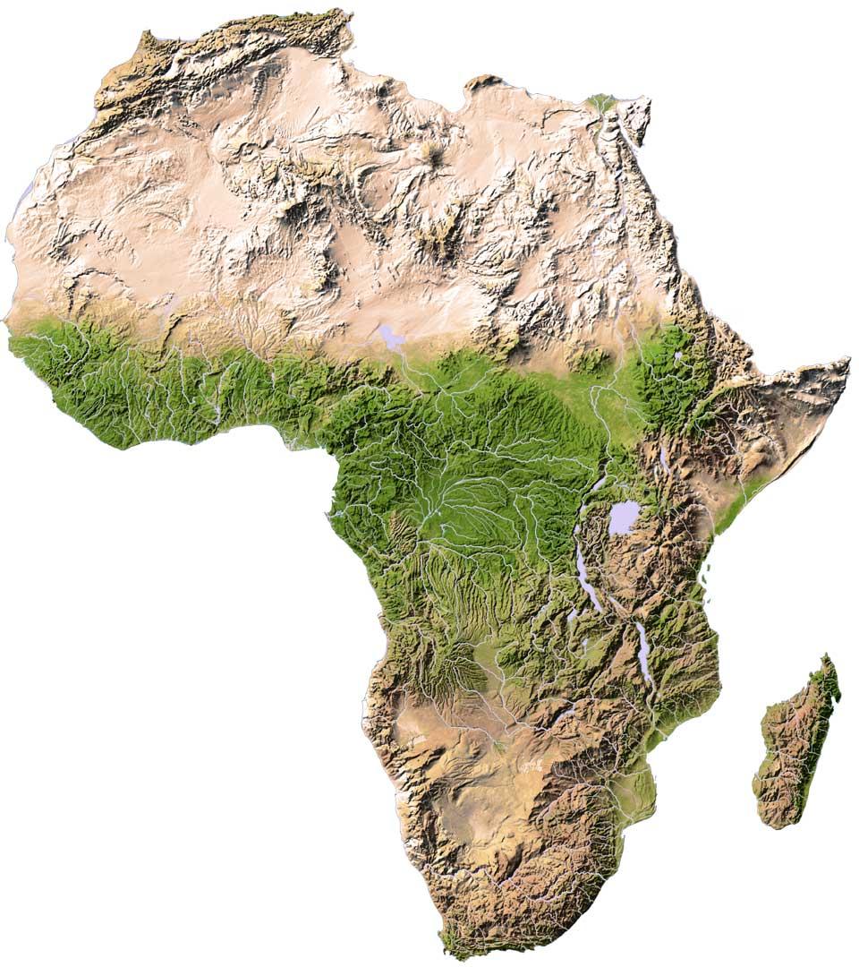 AIS AFRICA MAP