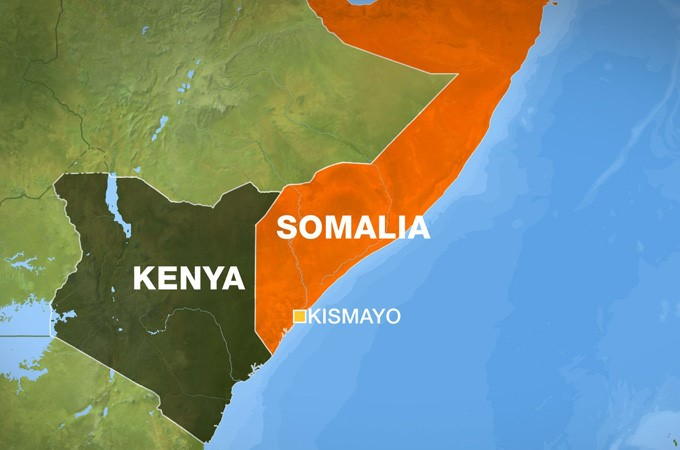 Kismayo Map
