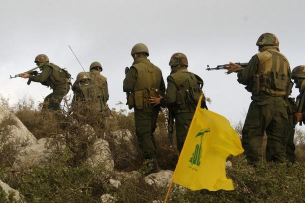 Hezbollah Patrol in Syria