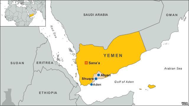 Aden Abyan Map