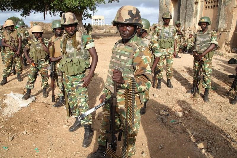 Burundian Troops 1