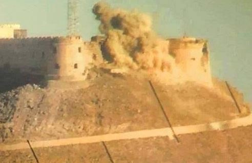 Castle - Sabhan under fire