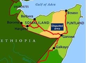 Puntland Map