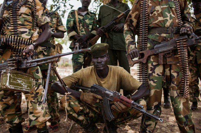 SPLA Troops