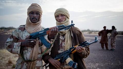 Tuareg armed