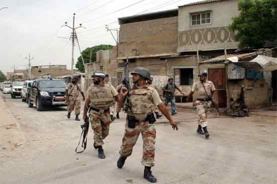 Pak Army in Karachi