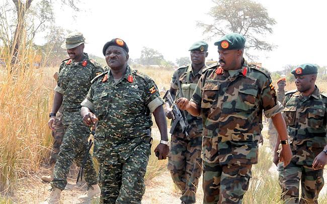 Uganda in SSudan 2