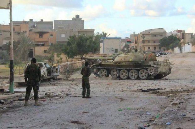 Trac 4 - Fighting in Benghazi
