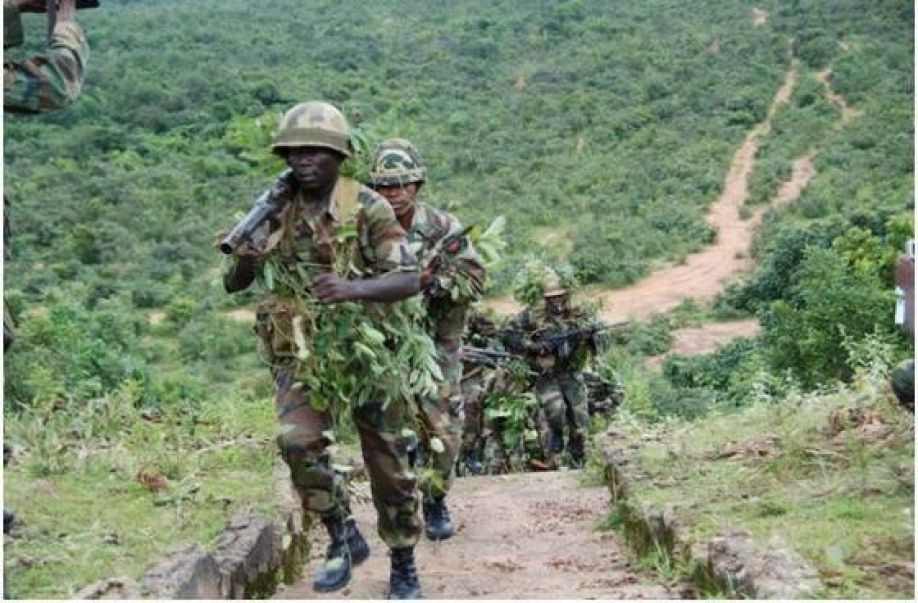 Image result for Army kills five Boko Haram insurgents, captures top Commander