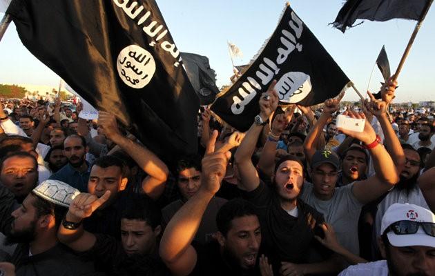 Benghazi - Ansar supporters
