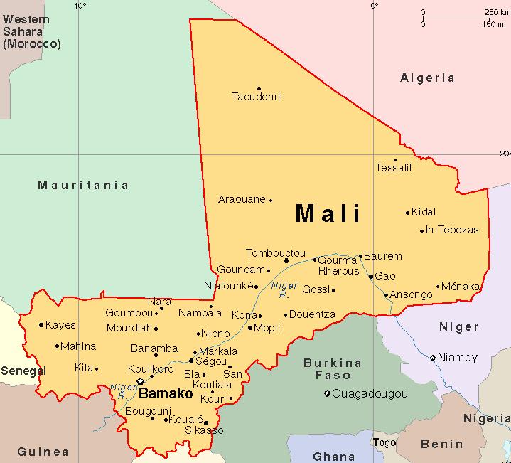 Mali map 2