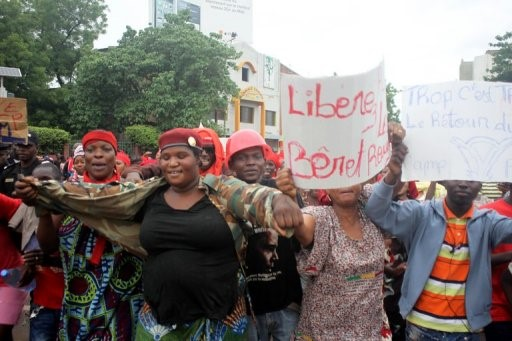 Mali Red Beret Protest