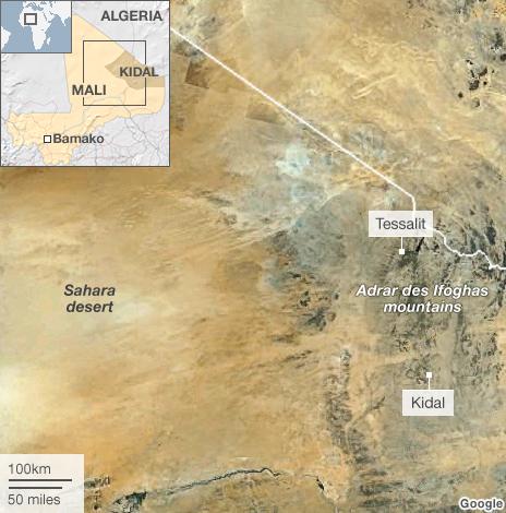 Kidal Region (BBC)