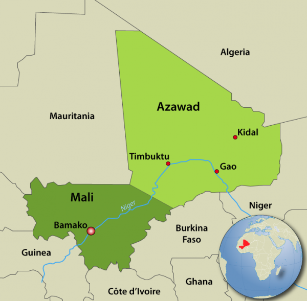 Azawad Map 2