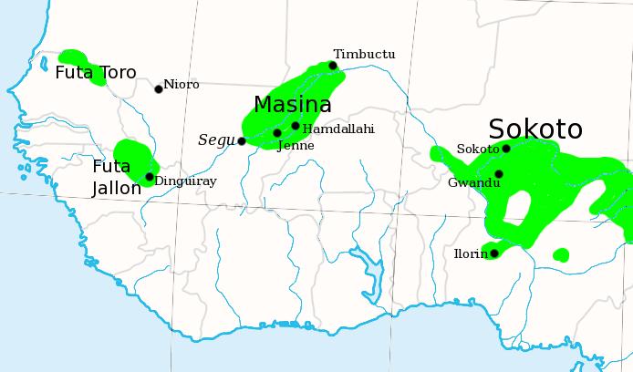 Fulani Map