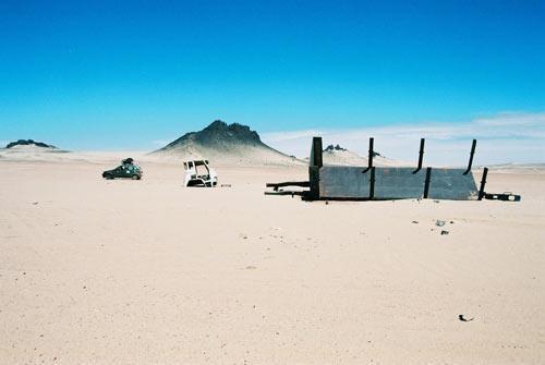 Mauritania - border