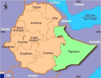 Ogaden Map