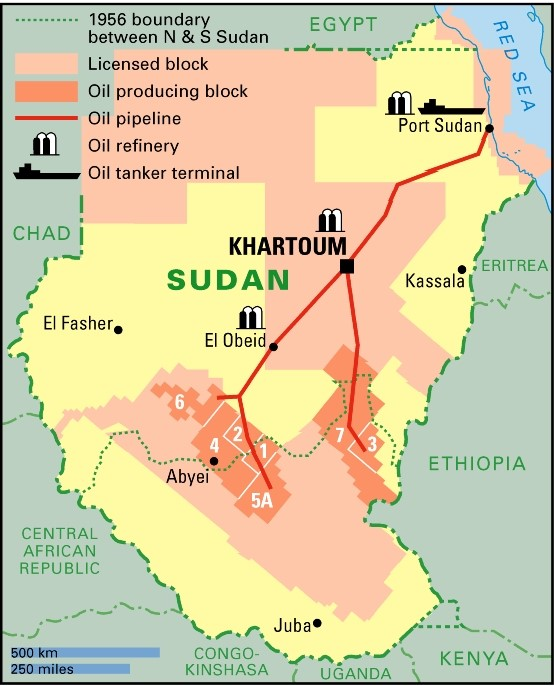 Sudan oil industry