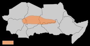 Baqqara Map