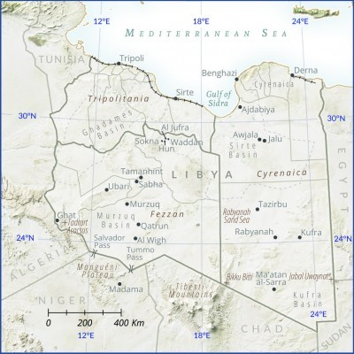 Libya CTC Map