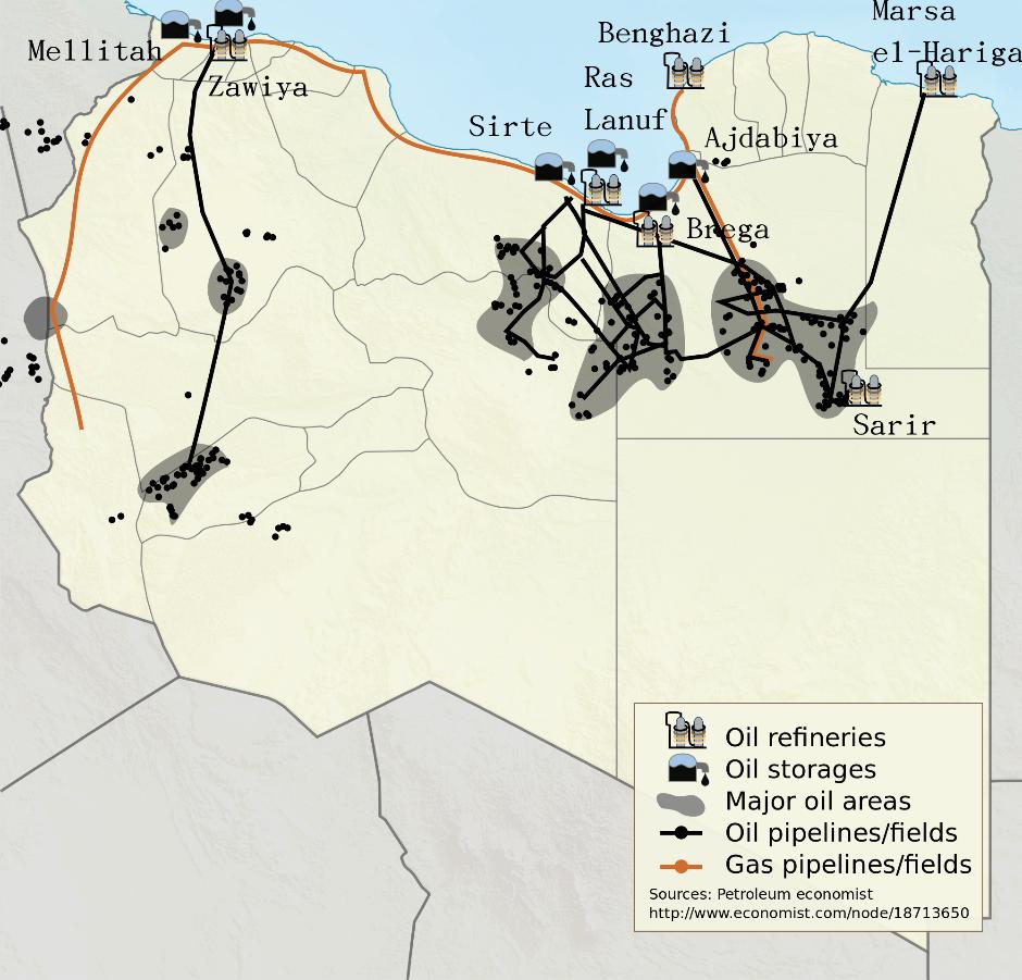 Libya - War for Oil 2