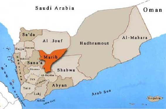 Marib Map