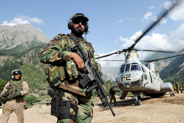 Pak Military in Swat