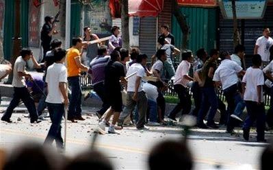 Riot in Urumqi