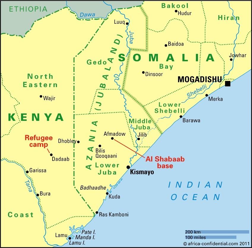Somalia Kenya