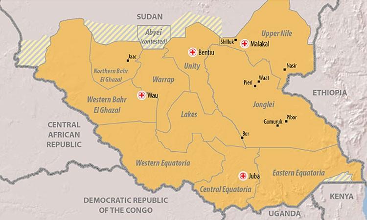Uganda in SSudan 3
